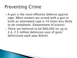 gun control persuasive speech