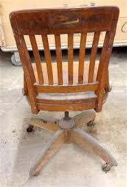 antique wooden swivel desk chair antique wooden desk chair