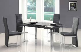Contemporary Black Dining Room Sets Dining Small Dining Room Tables For Small Spaces Glassari In