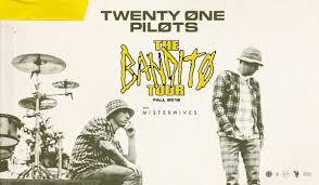 <b>TWENTY ØNE PILØTS</b> - THE BANDITØ TOUR - Dickies Arena