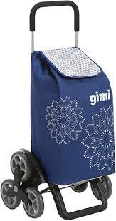 <b>Сумка</b>-<b>тележка Gimi Tris Floral</b>, синяя (15079350) - купить сумку ...
