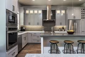 Grey Stained Kitchen Cabinets Light Gray Kitchen Cabinets Cosbellecom