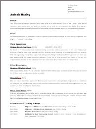 Example of a good CV   Professional help from top writers