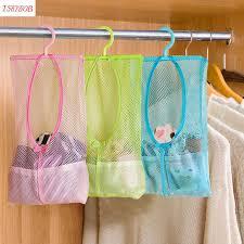 Multi function Space Saving Hanging <b>Mesh Bags</b> Clothes Organizer ...