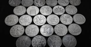 The 26 <b>new 10p</b> 'alphabet' coins - which could be the rare and ...