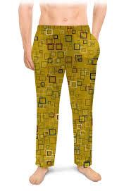 "Мужские пижамные штаны ""<b>Квадраты</b>"" #2710749 от valezar - <b>Printio</b>"