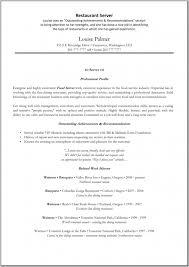 resume for serverserver resume sample server resume pictures resume sample restaurant server sample resume