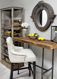reclaimed wood desk home office modern with custom made desk custom custommade custom office