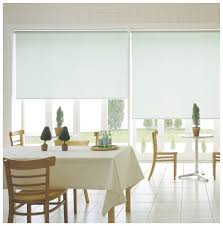 roll blinds dining
