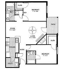 Small House Floor Plans  Bedrooms Bedroom Floor Plan Download - Two bedroomed house plans