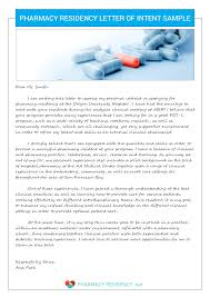 pharmacy letter of intent sample pharmacy residency pharmacy residency letter of intent sample
