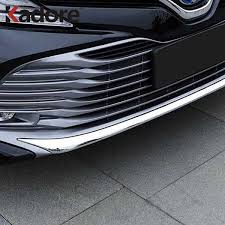 For Toyota Camry XV70 2017 2018 2019 ABS Chrome <b>Carbon</b> ...