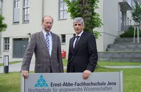 Dr. Thoralf Held neuer Kanzler der Ernst-Abbe-Fachhochschule Jena ... - Kanzlerwechsel_an_der_EAH_Jena