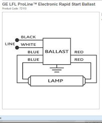 this ge 140rs120 wont light both sockets changed out below is the diagram for the 140rs120 ballast it needs to be wired as shown for a single lamp