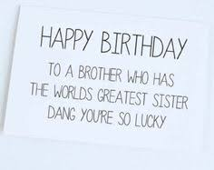 Brother Birthday Quotes on Pinterest   Big Brother Quotes, Little ... via Relatably.com