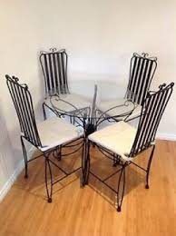 black wrought iron table and chair sets black wrought iron dining table with glass top black wrought iron table