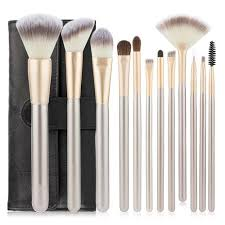 Generic Professional <b>12pcs</b> Brushes Set Powder Blush Eyeshadow ...