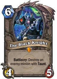 The <b>Black Knight</b> | Hearthstone Wiki | Fandom