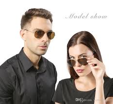 RRBB3025 2018 <b>New Half Metal</b> Sunglasses Men And <b>Women</b> ...