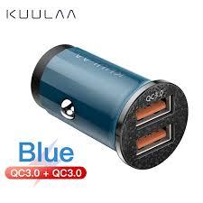 KUULAA Quick car <b>Charge</b> 4.0 <b>48W QC</b> PD 3.0 Car <b>Charger</b> Mobile ...