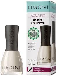 <b>Основа и покрытие для</b> ногтей Limoni Aquafix, 7 мл