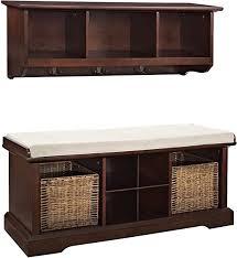 Crosley Furniture Brennan Entryway Storage Bench ... - Amazon.com