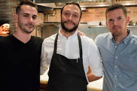 sunday in brooklyn an all day sustainable restaurant is headed adam landsman chef jaime young todd enany courtesy of sunday in brooklyn