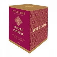 "<b>Чай Williams</b> ""<b>Purple Crystal</b>"", черный с лепестками сафлора и ..."