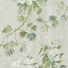 Small Picture floreale steel wallpaper Designers Guild