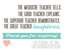 Printable Teacher Appreciation Quotes. QuotesGram via Relatably.com