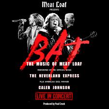 <b>Meat Loaf</b> Presents: <b>BAT</b> {CANCELLED} – Tickets – World Cafe Live ...