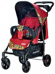 Купить <b>прогулочная коляска Everflo Safari</b> Luxe E-230 Red, цены в ...