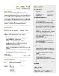business operations manager resume examples cv templates samples business operations manager resume 3
