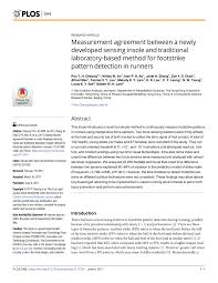 (PDF) Measurement agreement between a newly developed ...