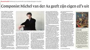 first reviews and interviews online disquiet review in volkskrant newspaper dutch article in trouw newspaper dutch video interview radio 4 eigentijds dutch