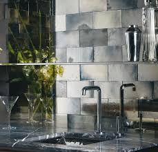 Wonderful Ann Sacks Glass Tile Backsplash Inspiration Mercury Look With Design
