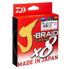 """<b>Леска плетеная Daiwa</b> """"J-Braid Grand X8"""", 0,13 мм, 135 м ..."""