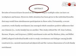 abstract for research paper  executive summary example research     Apa Format Title Page  abstract for research paper  executive summary example research
