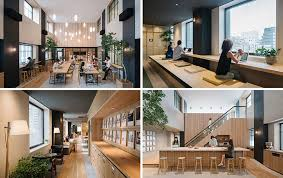 looking more like a home than a workplace are the new tokyo offices designed for airbnb cool office design