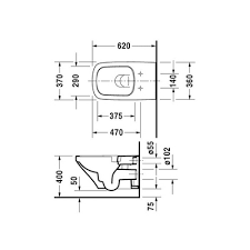 <b>Duravit DuraStyle</b> 2542090000 <b>Rimless унитаз</b> подвесной купить в ...