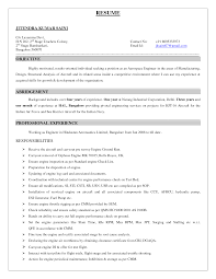 aeronautical engineering resumes template aeronautical engineering resumes