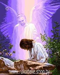 <b>Набор для вышивания Goblenset</b> Иисус и божественный дух 824 ...