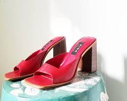 <b>Square</b> toe <b>heels</b> | Etsy