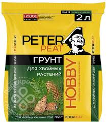 Купить <b>Грунт</b> Peter Peat Hobby для <b>хвойных растений</b> 2л с ...