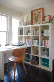 ikea billy bookcase and desk affordable minimalist study room design