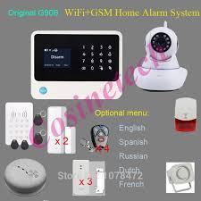 Reliable <b>Original G90B WIFI GSM</b> alarm system,GPRS,surveillance ...