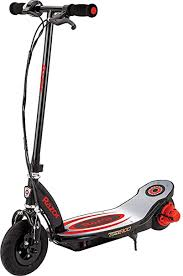 Razor Power Core E100 <b>Electric Scooter</b> with <b>Aluminum</b> Deck - Red ...