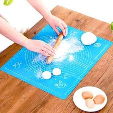 Buy Lukzer 1 Pc <b>Reusable Non-Stick</b> Kneading Dough Mat Bakery ...