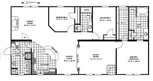 Great Manufactured Home Floor PlansClayton Homes Floor plan for double wide