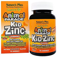 Nature's Plus, <b>Source of Life</b>, <b>Animal</b> Parade, Kid Zinc Lozenges ...